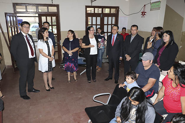 Taiwán colabora con sistema de salud paraguayo