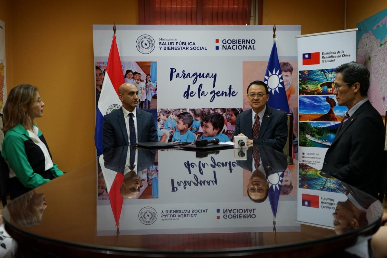 Taiwán ratifica su apoyo a Paraguay