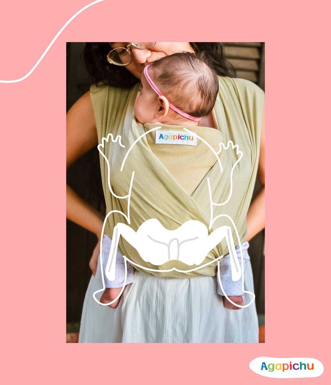 Agapichu siente la  maternidad piel a piel