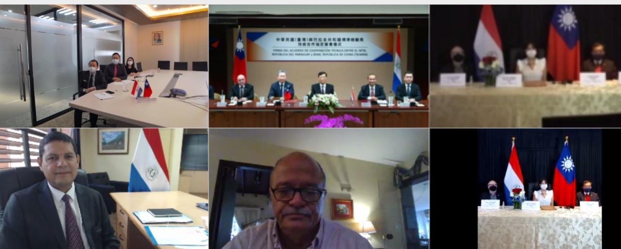 Se fortalece la alianza  de Taiwán y Paraguay