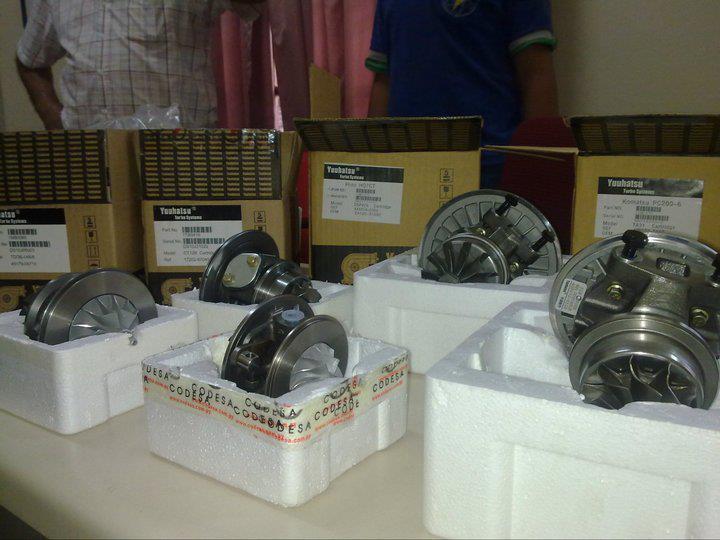Creación y reparación de turbos compresores