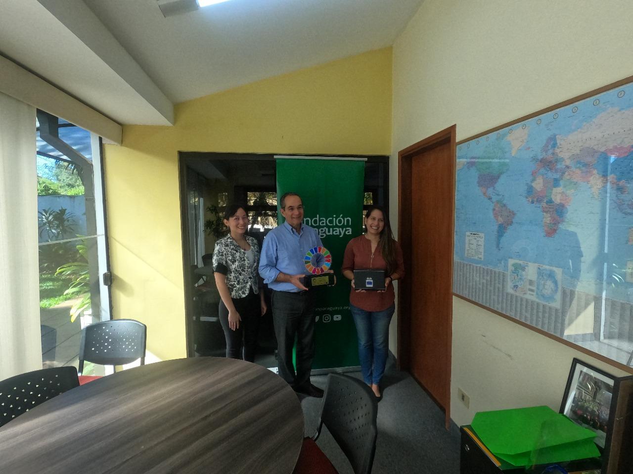 La Fundación Paraguaya fue una de las distinguidas en la versión 2020
