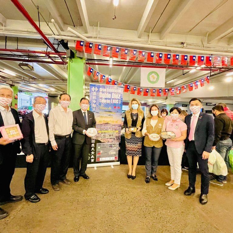 """Venta benéfica de comidas tradicionales de Taiwán en el marco de los festejos del """"Doble Diez"""""""